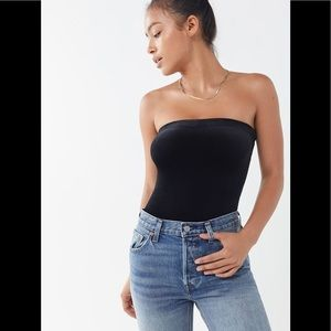 Urban Outfitters Tops - OUT FROM UNDER MJ Velvet Tube Top Body Suit